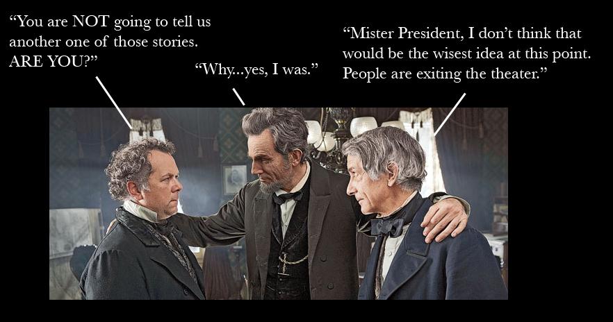 Lincoln, The Storyteller